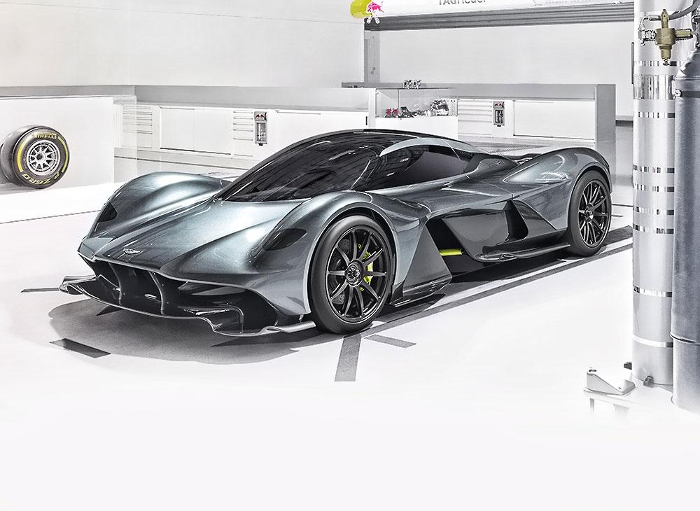 Aston Martin Red Bull AM-RB001 Sería Hibridizado