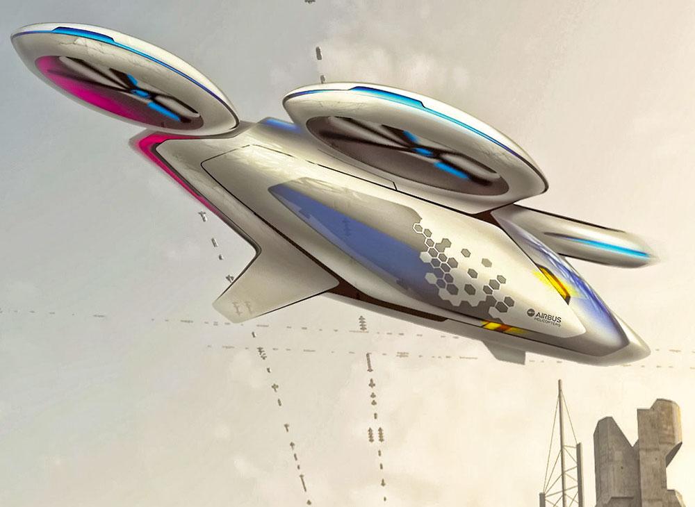 El Auto Volador de Airbus Entra en Prueba el Próximo Año