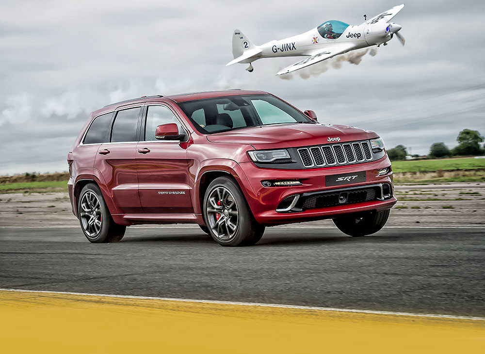 Grand Cherokee SRT Vs Silence SA1100 Twister [VIDEO]