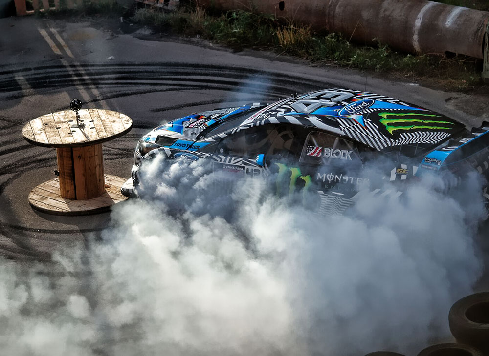 FordVR te Pone en Medio del GYMKHANA de Ken Block… Agárrate [VIDEO]