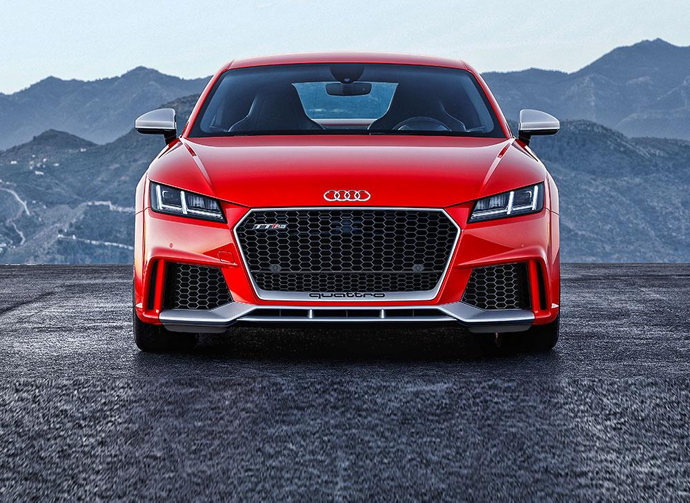 El Nuevo Audi TT RS Corta los 100 kmh a 3.6