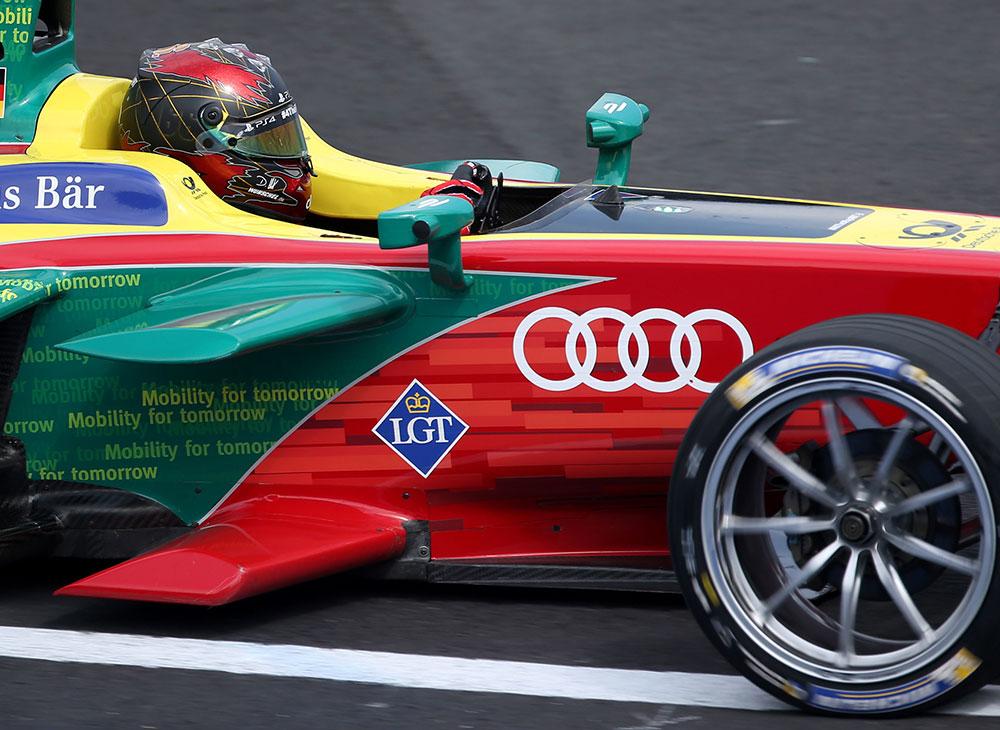 Picante Victoria Audi en el ePrix de México