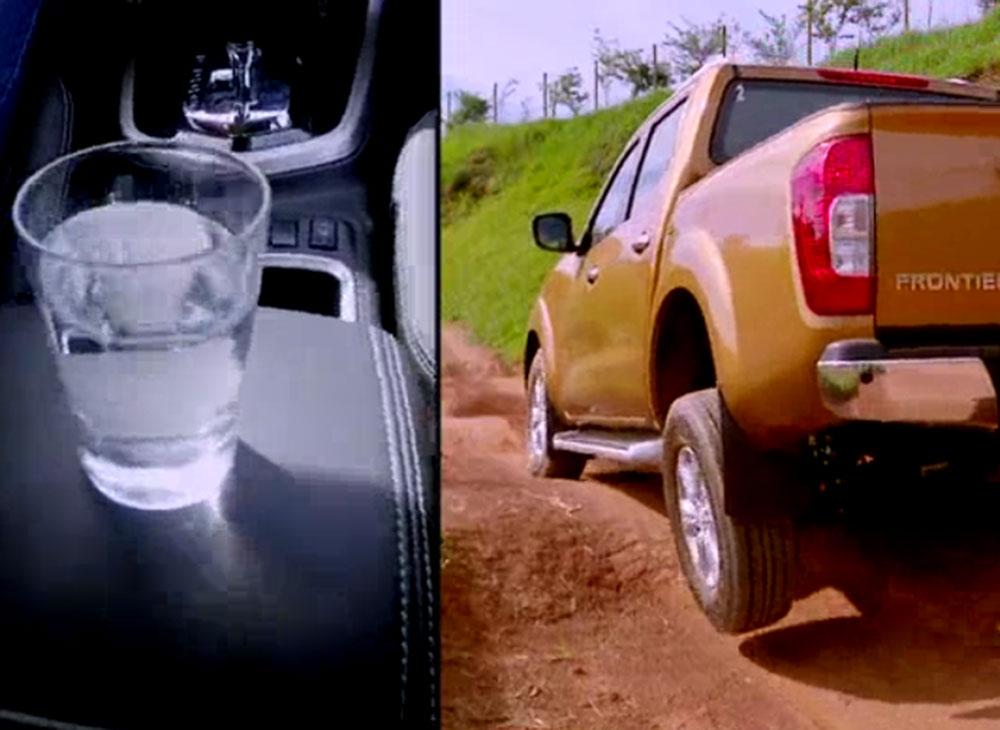 El Vaso de Agua en la Nissan NP300 Frontier [VIDEO]