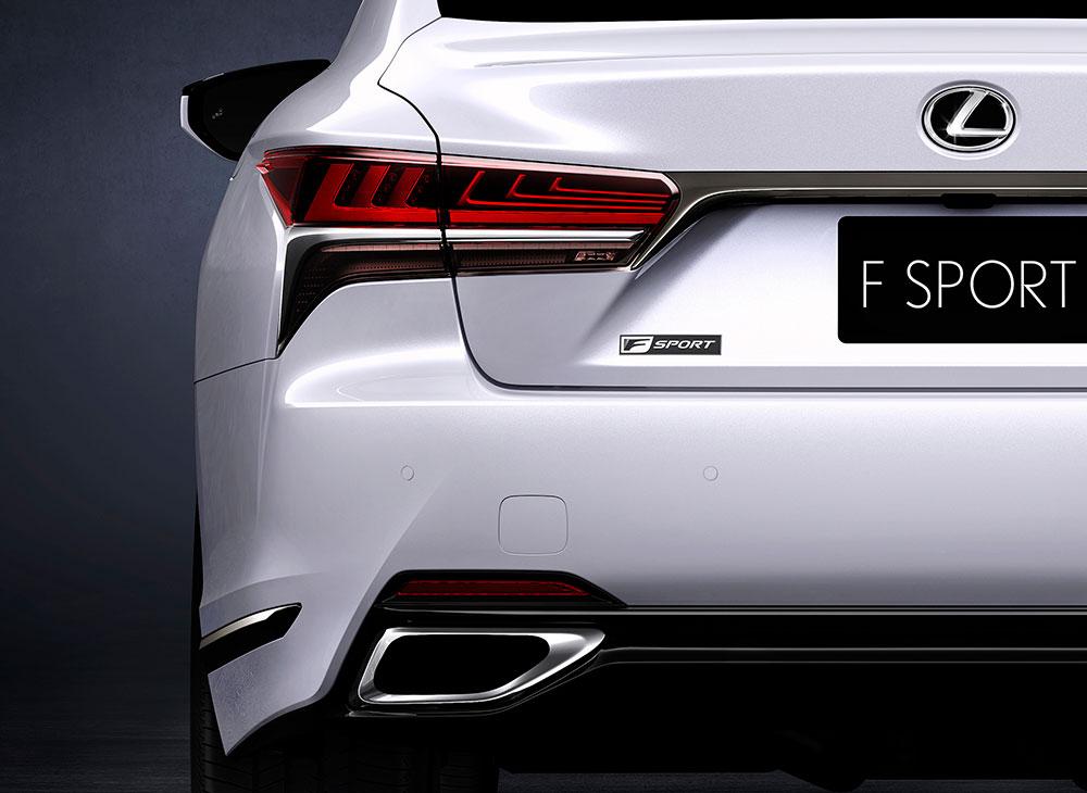 Lexus F Sport en Nueva 'Grandeza' y Glamour sobre el LS 500
