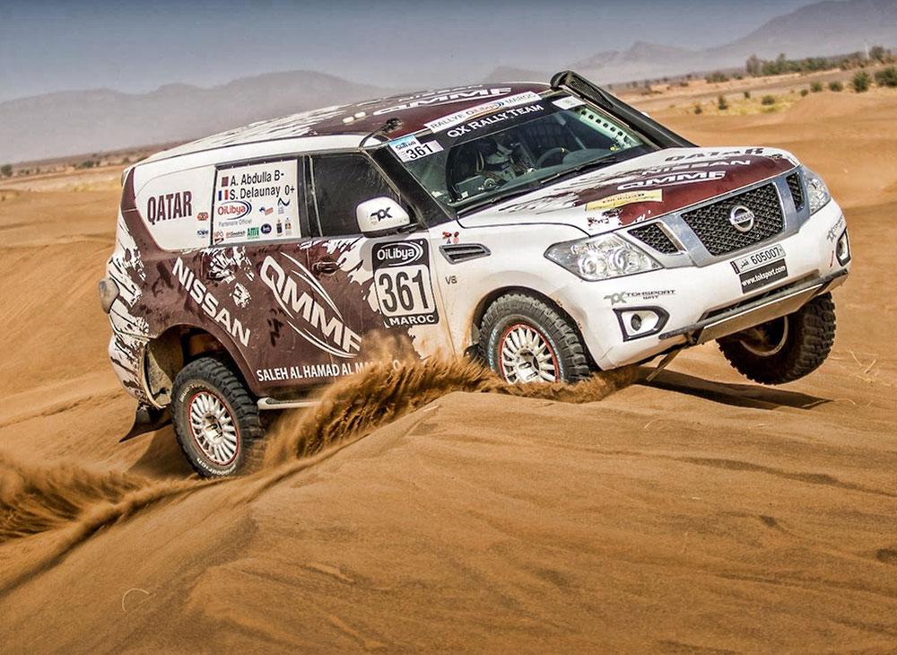 Nissan Patrol… Campeón Mundial de la FIA T2 en Abu Dabi