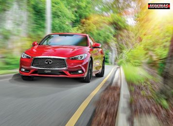 2. Infiniti Q60 » Categorico Deportivo en Arte Coupe - MAKINAS