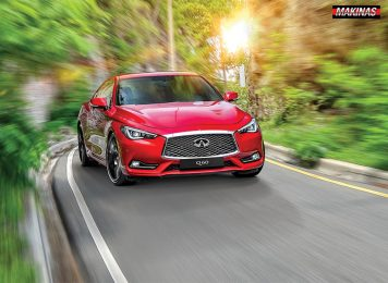 3. Infiniti Q60 » Categorico Deportivo en Arte Coupe - MAKINAS