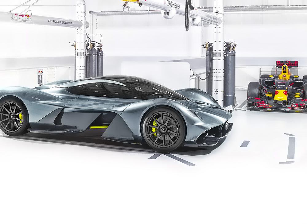 Aston Martin Quiere Propulsar la F1