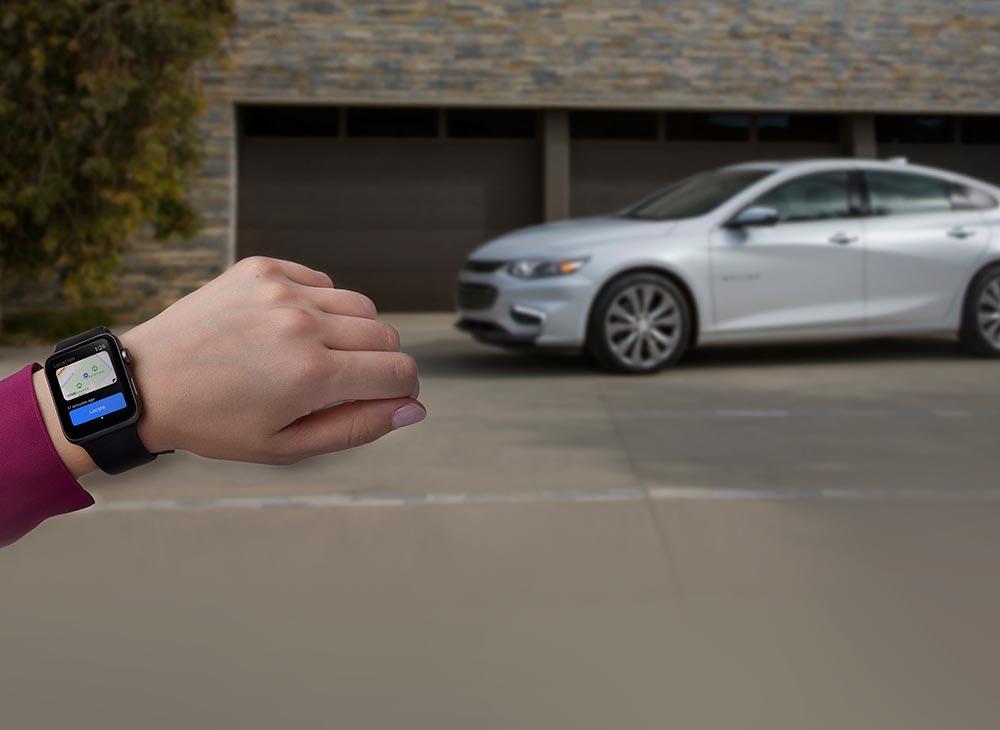 El App Chevrolet para Apple Watch