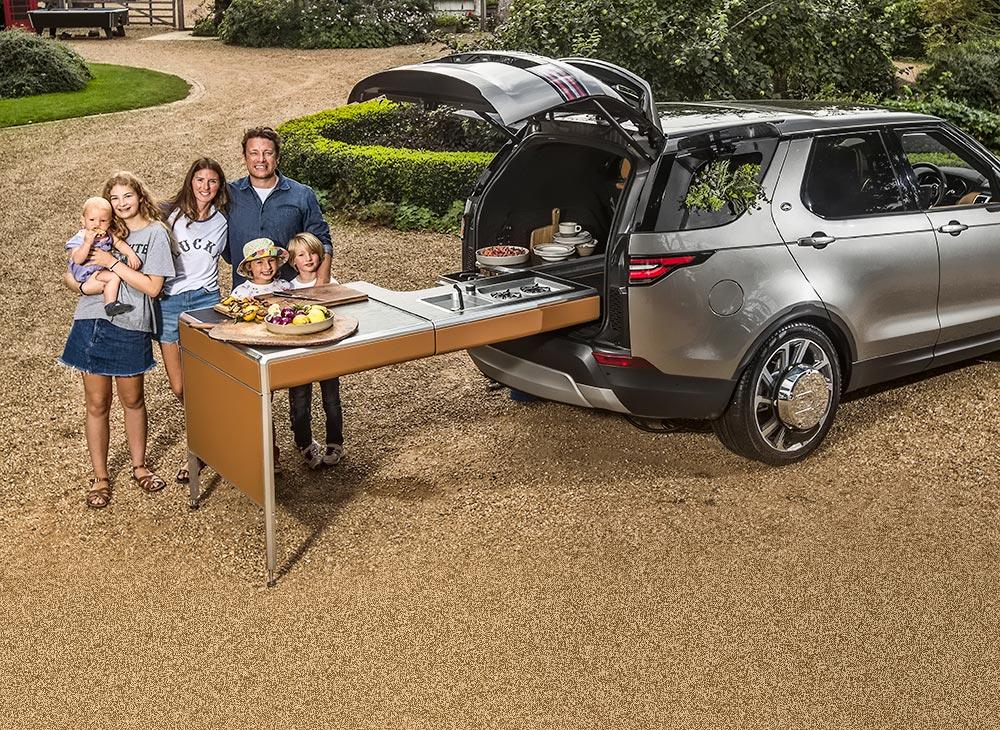 Camping Food al Mayor Lujo Land Rover [VIDEO]