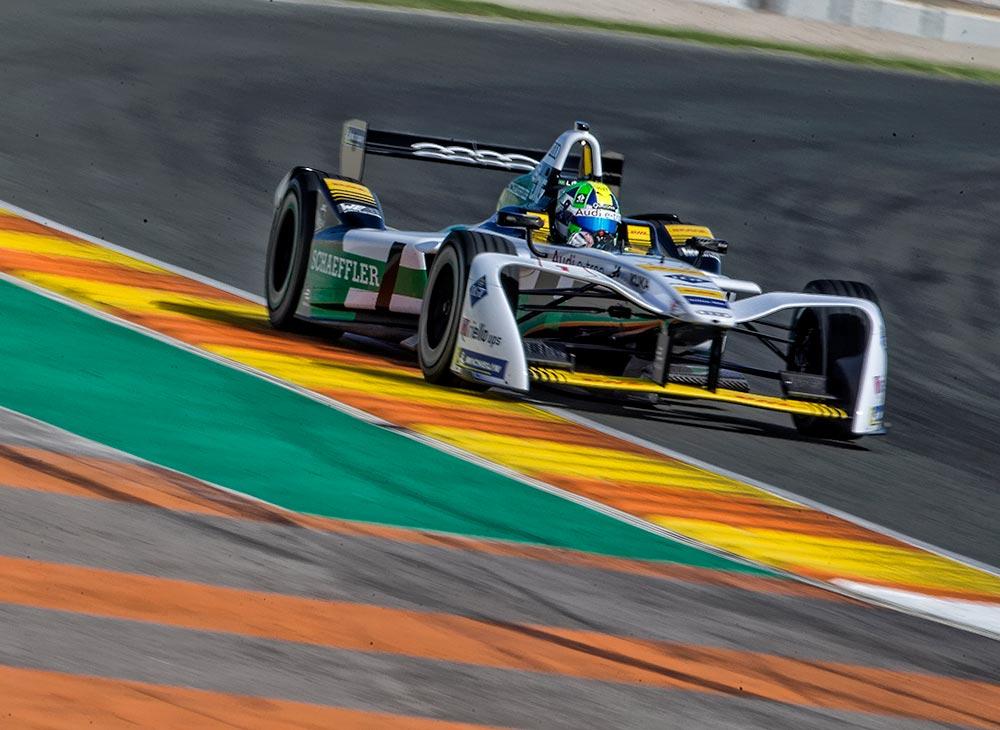 El Audi e-tron FE04 Impresiona en las Pruebas de Fórmula E