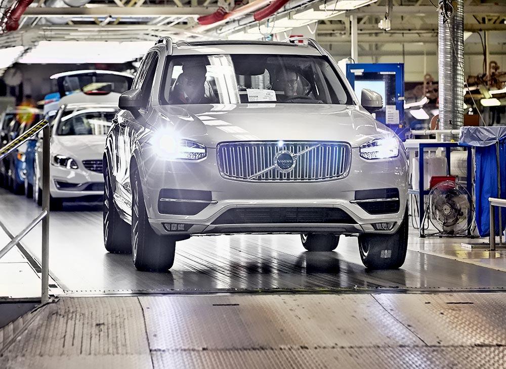 La Próxima Volvo XC90 para el 2021… Planta Lista en Carolina del Sur