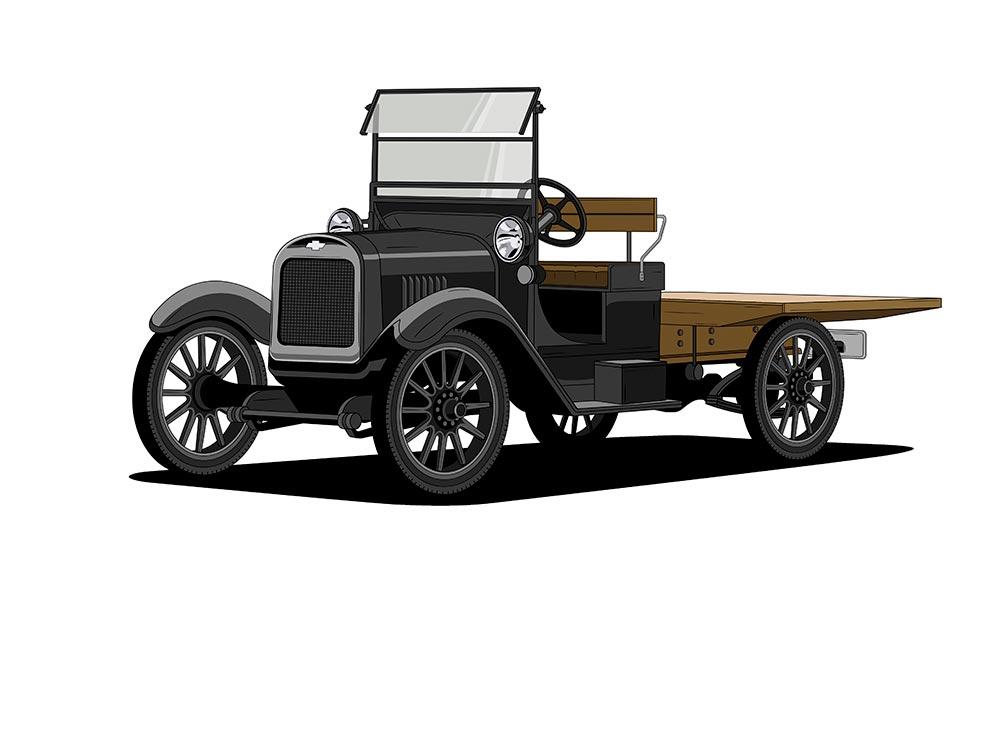 Un Siglo de Pickups Chevrolet