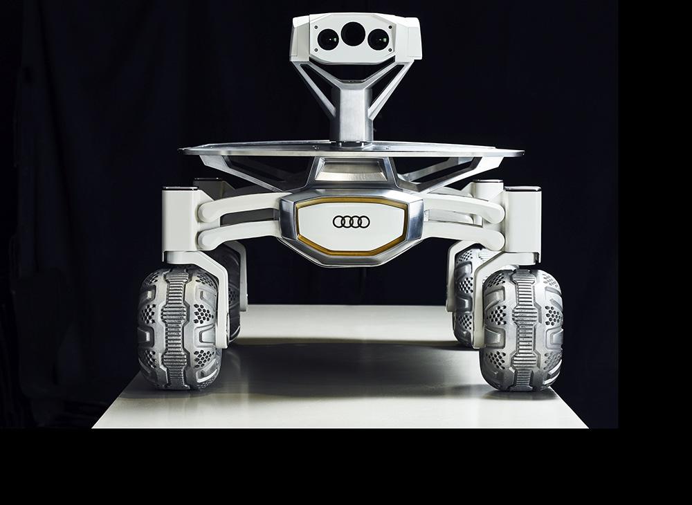 Homenaje Audi a Misiones Lunares