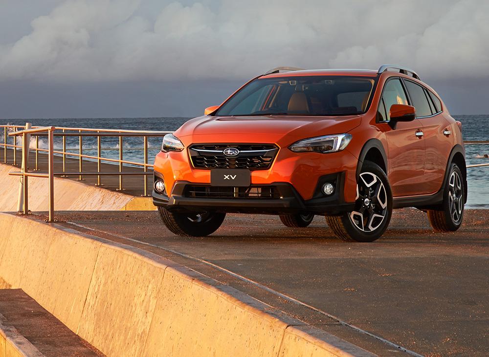 Máxima Seguridad en toda la Gama Subaru