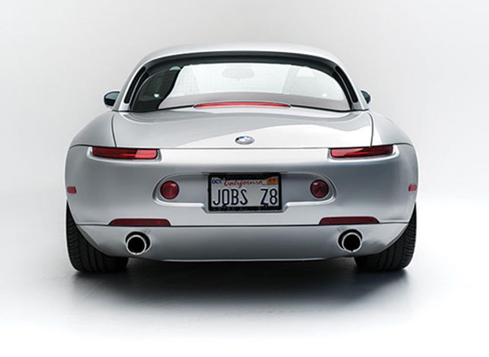 Subastan el BMW Z8 de Steve Jobs