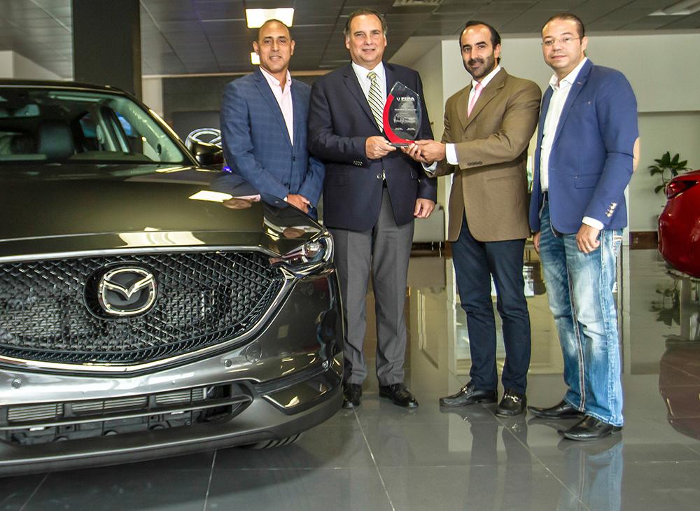 Latinoamérica Elige a la Nueva Mazda CX-5 como la SUV FIPA 2018