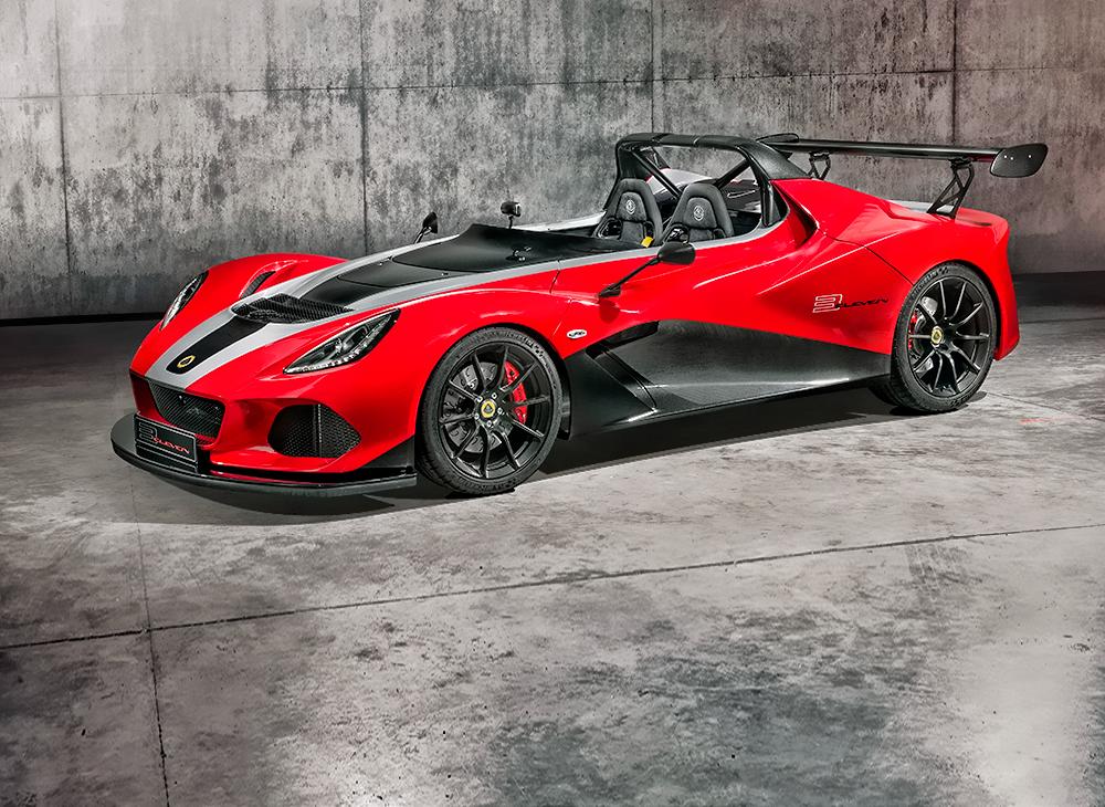 Nuevo Lotus 3-Eleven 430… El Poder de la Evolución