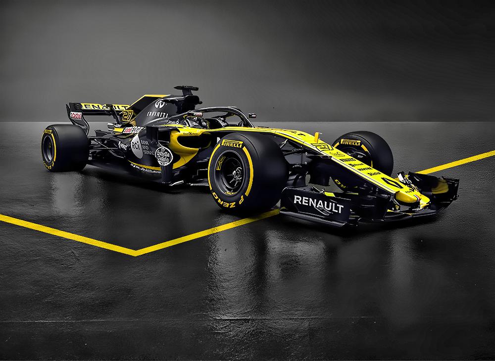 Renault Presenta su Mákina F1 2018