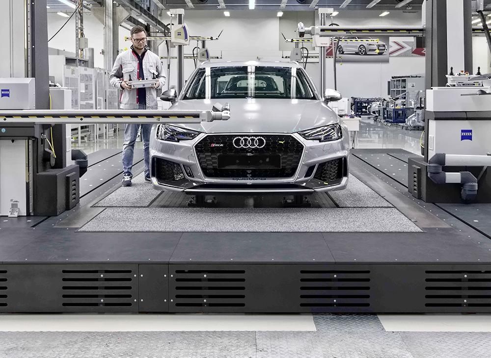 Vanguardia Audi al 100%… Avanza Hacia la Digitalización Total en Producción