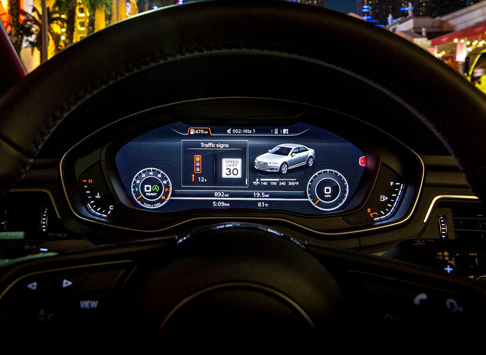 Audi Implementa el 'Traffic Light Information' en EEUU