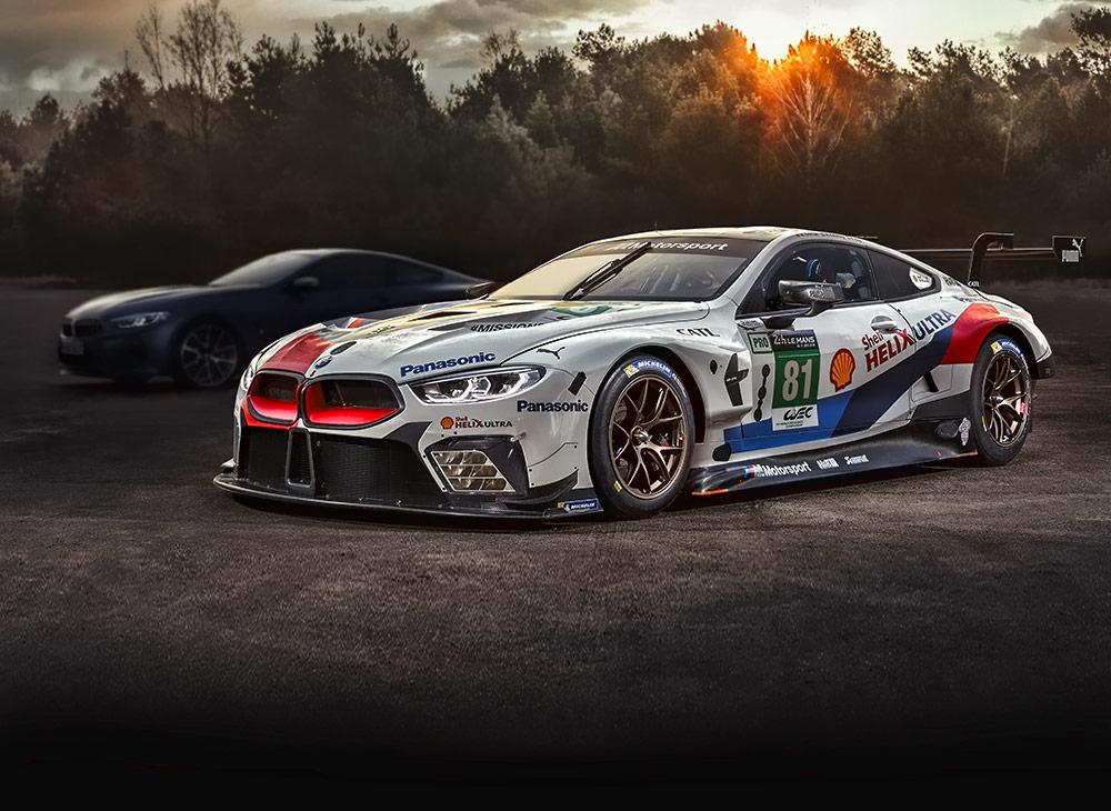 BMW Regresa a Le Man con el Debut del Poderoso M8