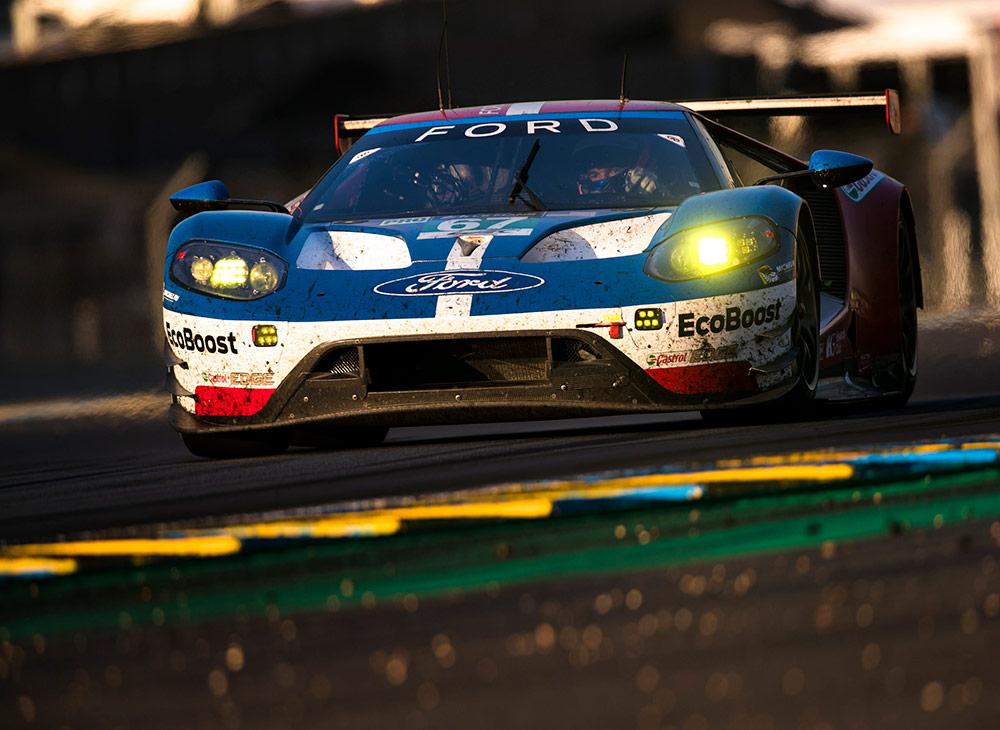 El Ford GT con los Guantes Puestos para Las 24 horas de Le Mans