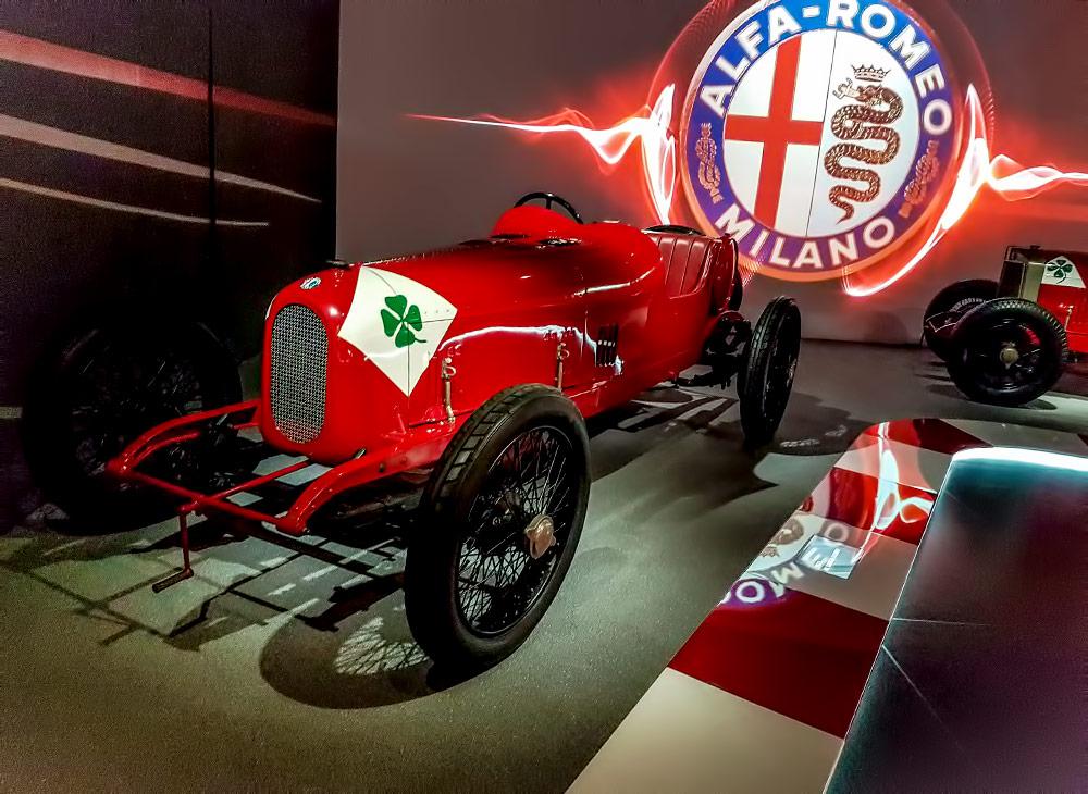 Museo Storico Alfa Romeo » Santuario de una Marca Legendaria