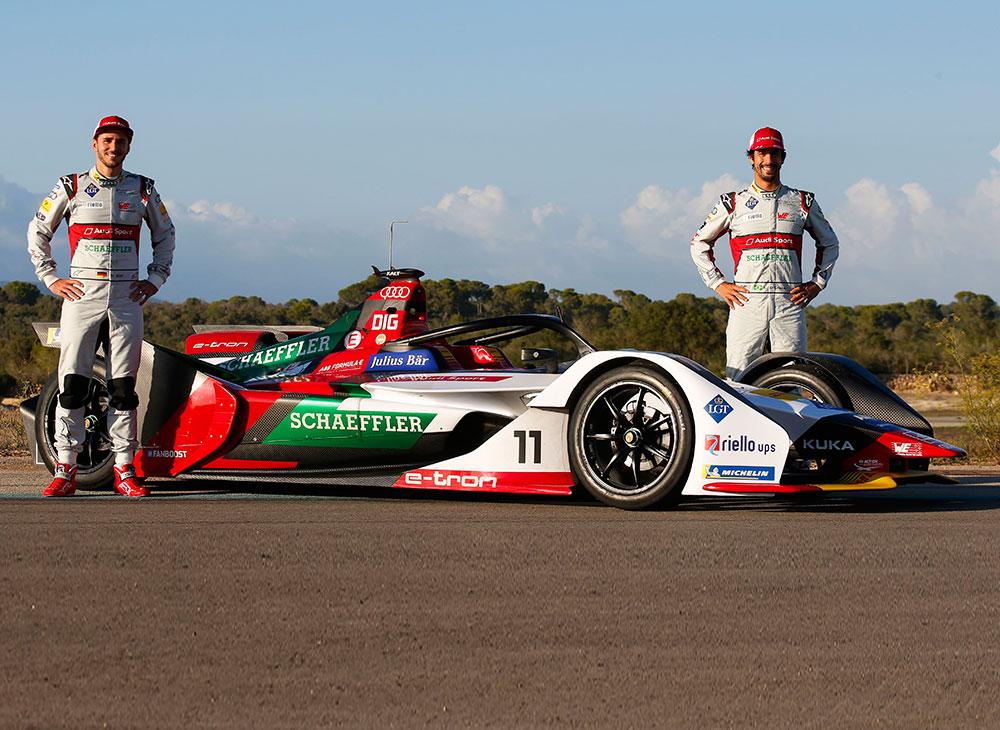 Audi se Prepara para Defender el Título Fórmula E