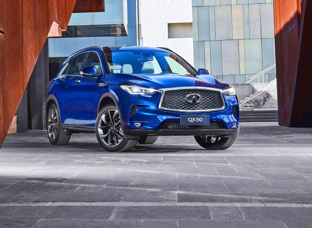"""INFINITI QX50 es la """"Mejor Compra"""" en la Clase SUV Premium"""