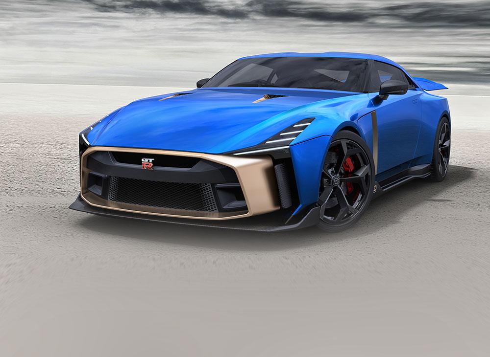 Nissan Confirma Producción del GT-R50 by Italdesign