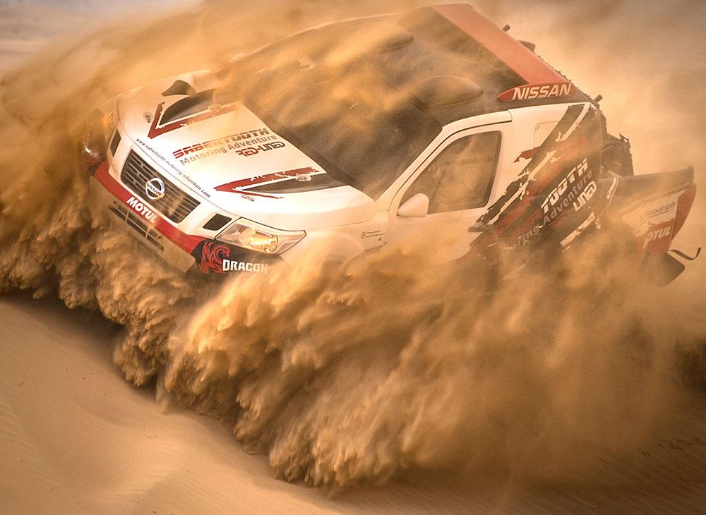 Nissan Red-Lined Motoring Adventure… Capacidad Extrema para el Dakar 2019