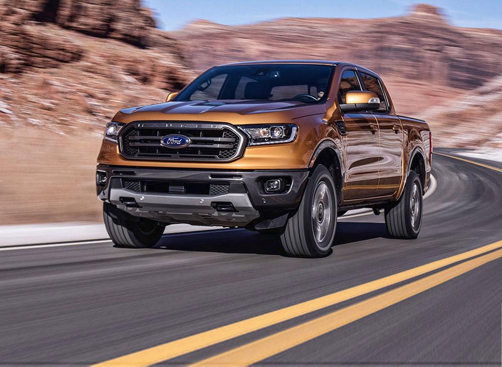 Nueva Ford Ranger… la más Eficiente del Segmento en EEUU