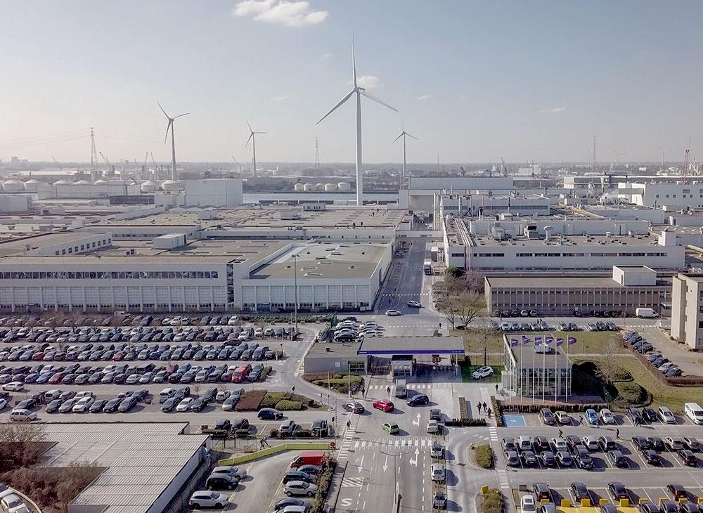 Volvo Levanta Planta de Energía Solar en Ghent