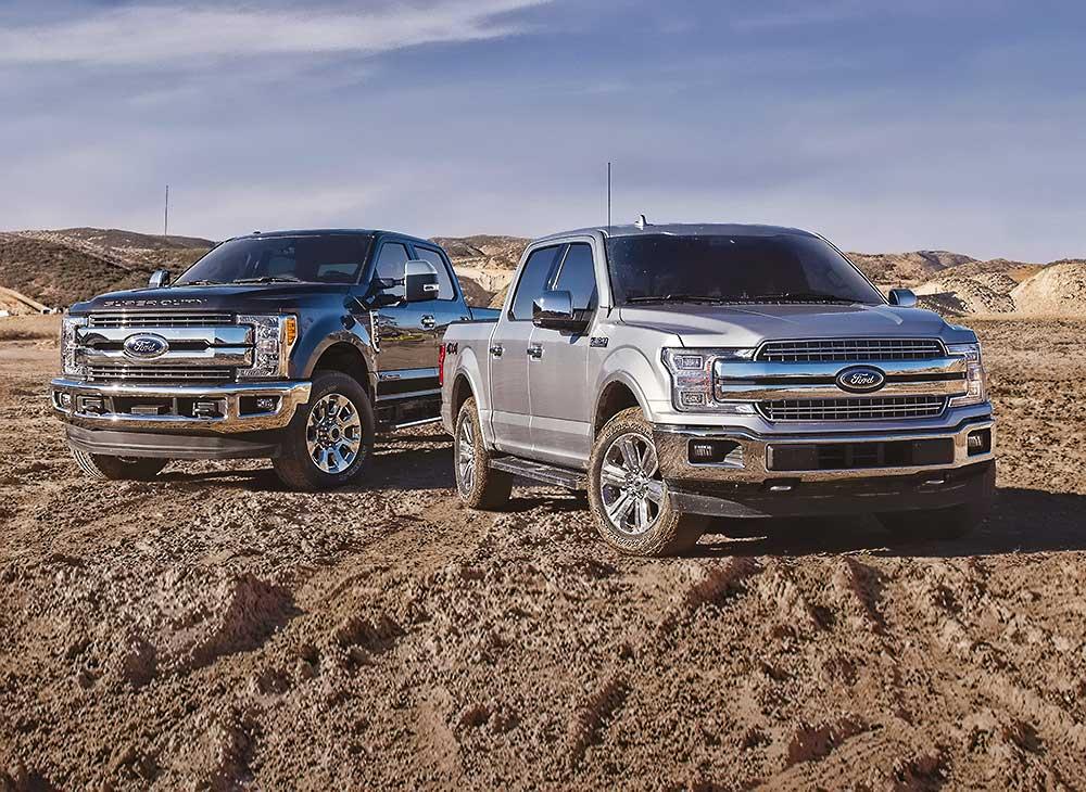 Ford Vende Más de 1 Millón de Camionetas en el 2018