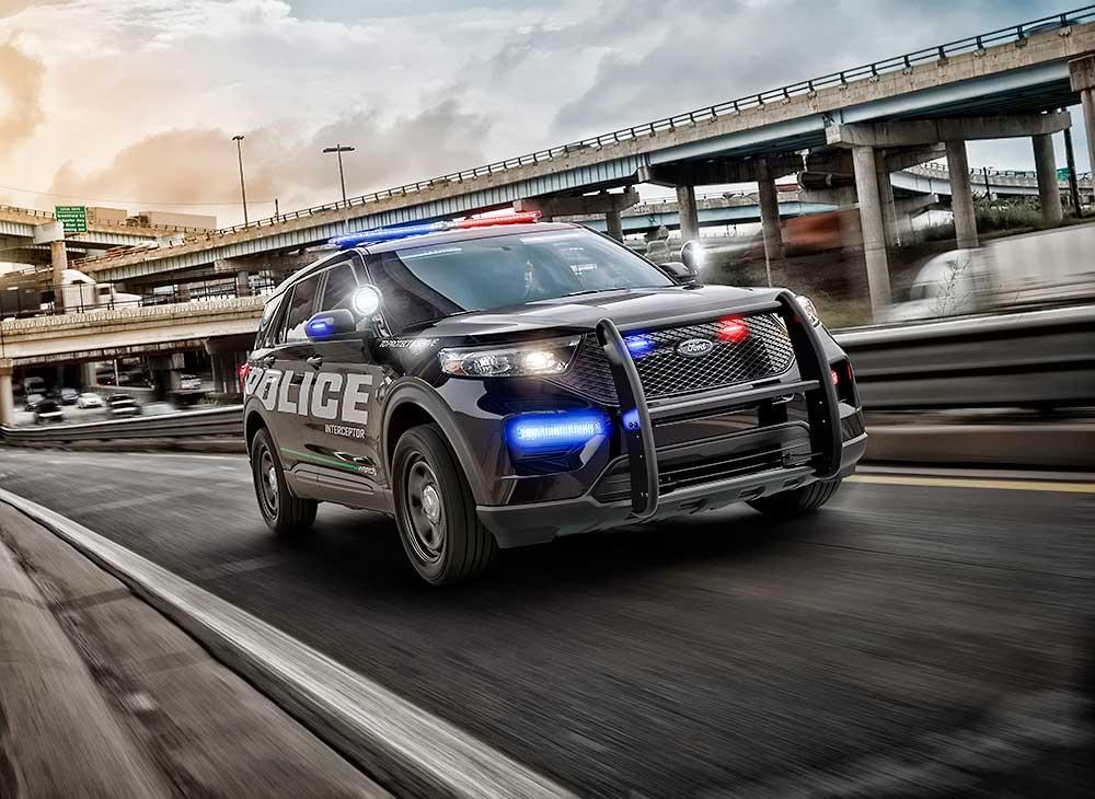 Tecnología Ford Domina los Police Interceptor en EEUU