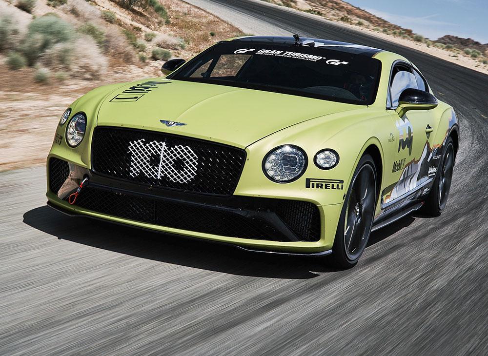 Bentley Busca un Nuevo Récord en Pikes Peak