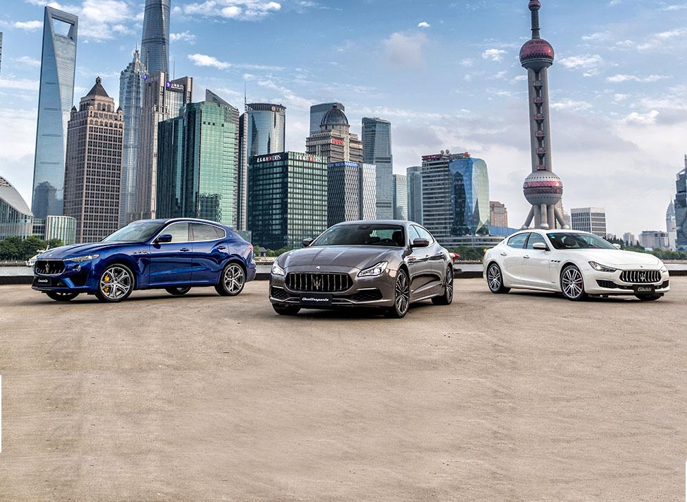 Gran Tour Maserati… 10 Mil Kilómetros por China