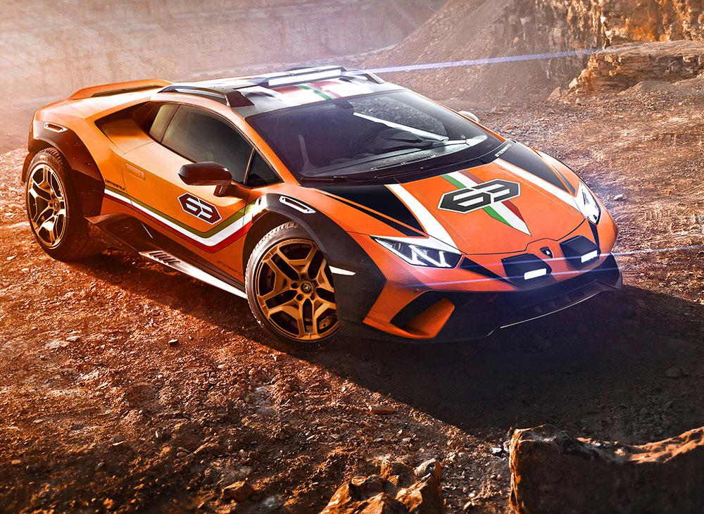 Lamborghini Huracán Sterrato Concept… Más Allá del Asfalto