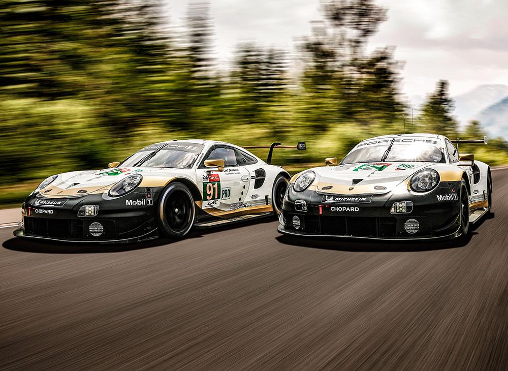 """Porsche se """"Pinta de Oro"""" para Las 24 Horas de Le Mans"""