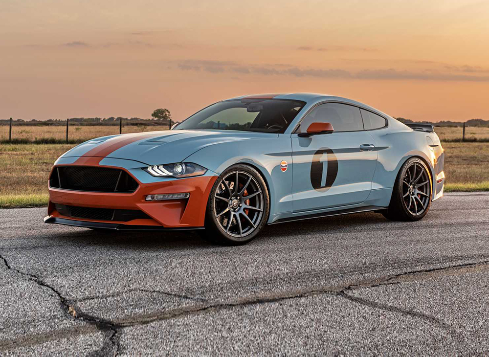 Brown Lee Performance Gulf Heritage Mustang… 800 Hp por US$140k