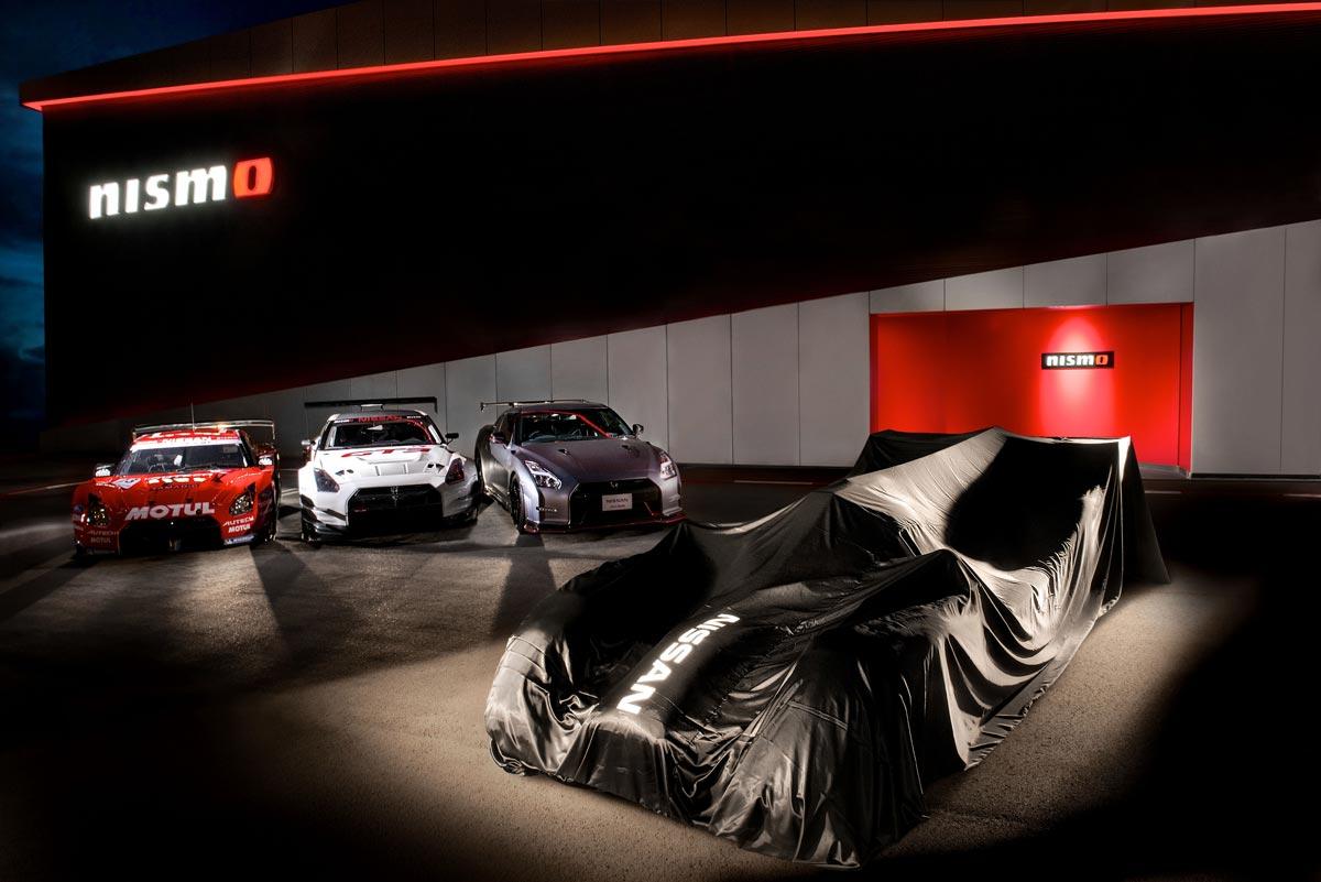 GT-R LM Nismo, el Desafío de Nissan para el LMP1 de Le Mans 2015