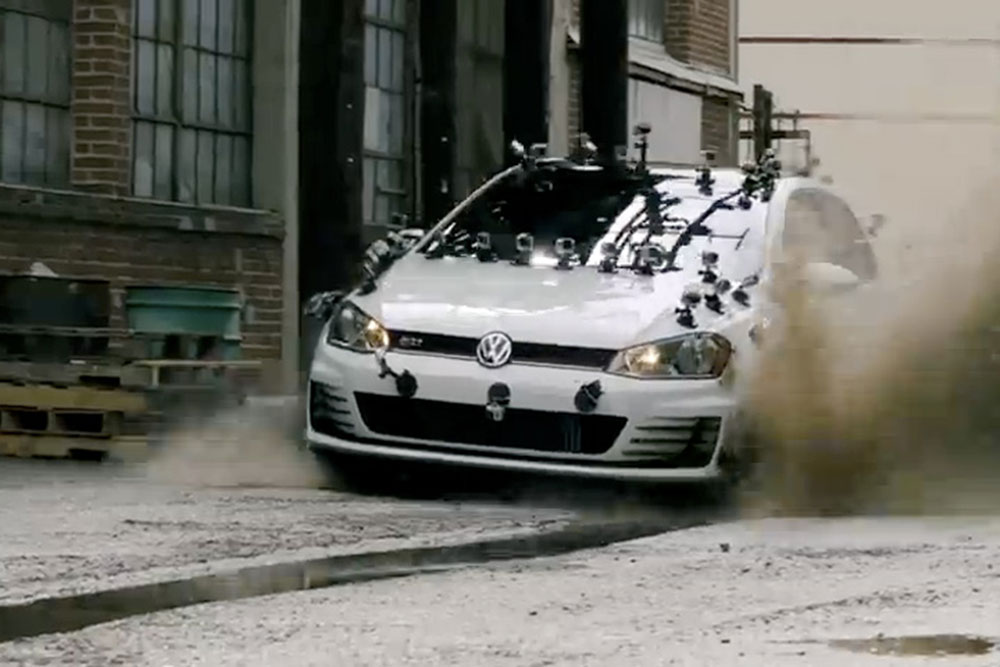 El Piloto de Top Gear VW Golf GTI 2015 se Promociona