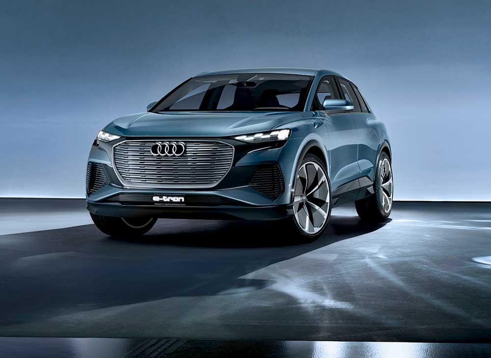 Audi Lidera las Patentes de Propulsión Eléctrica