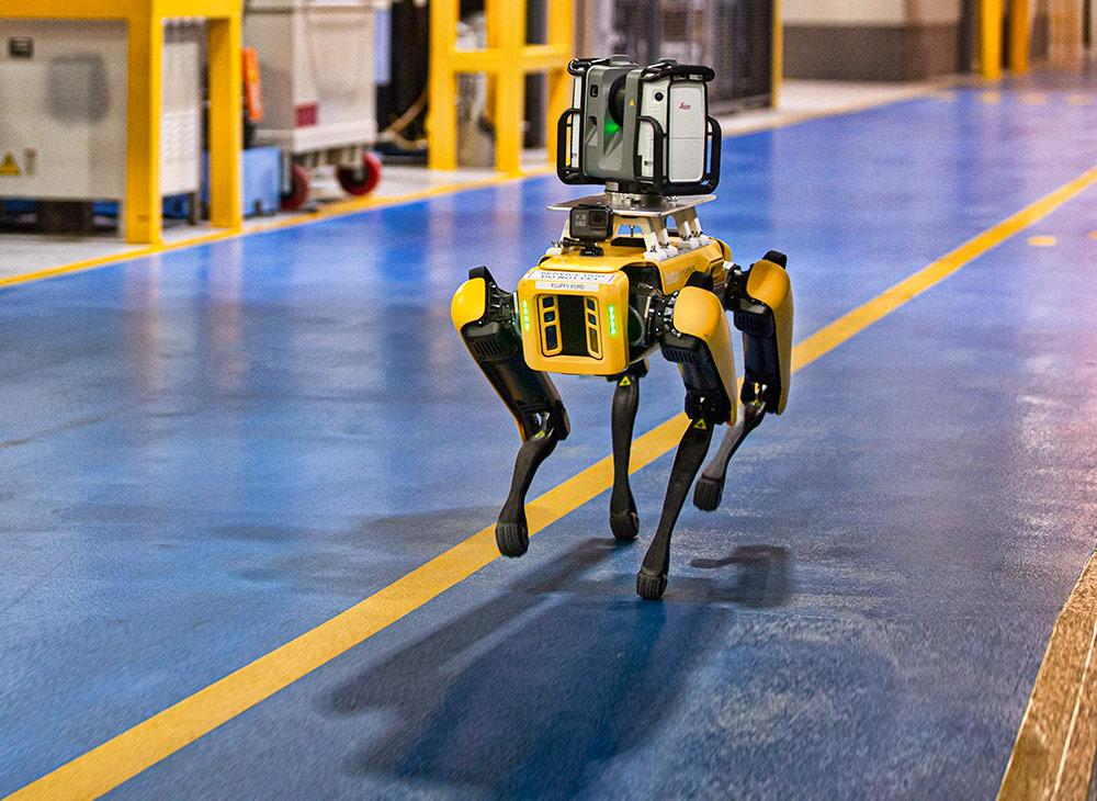 """Fluffy y Spot… Los Robots """"Caninos"""" Empleados de Ford"""